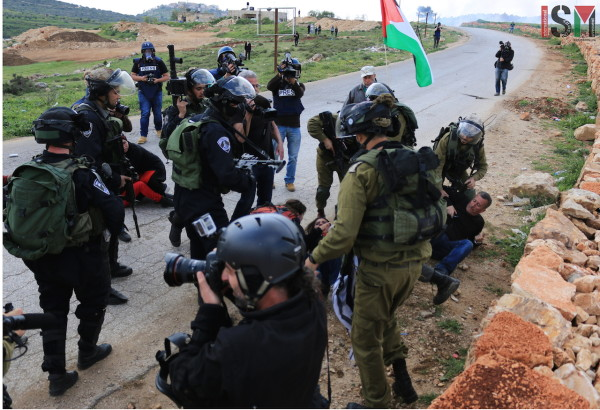 arrests in Nabi Saleh