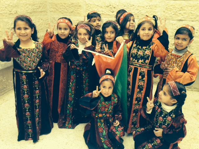 Kids in the al Arroub refugee camp