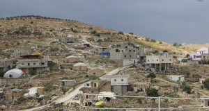 At-Tuwani - village in the South Hebron Hills where Operation Dove is located, helping provide an international presence in the area.