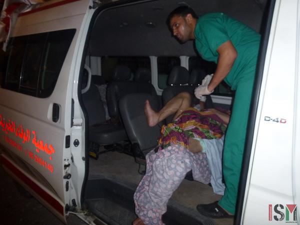Ambulance in Gaza