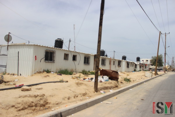 Caravan homes in Khuza'a
