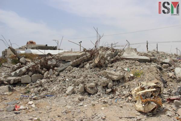 The result of Israeli bombings