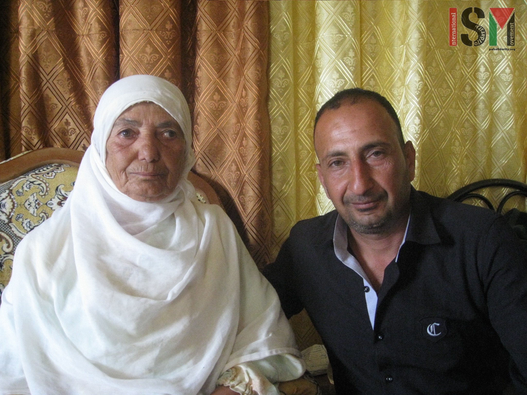 Rabih and his mother from Salem