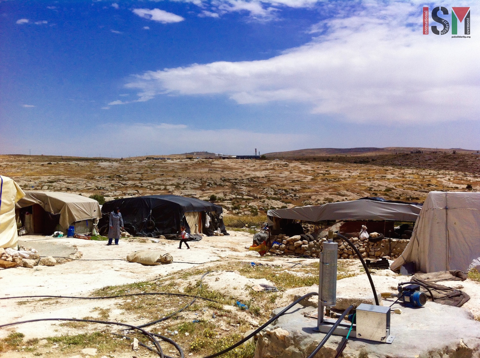 Susiya village, South Hebron Hills