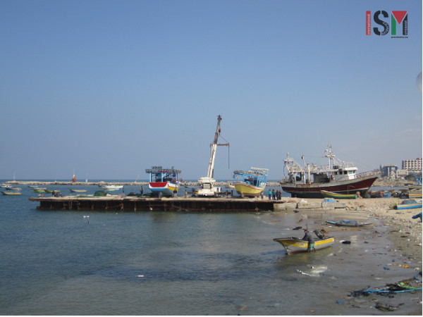 Gaza sea port