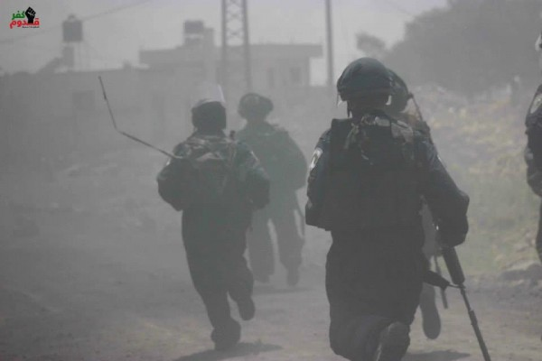 Israeli forces in Kafr Qaddum