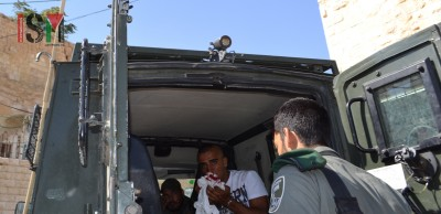 Palestinian man was arrested after attack of the extremists