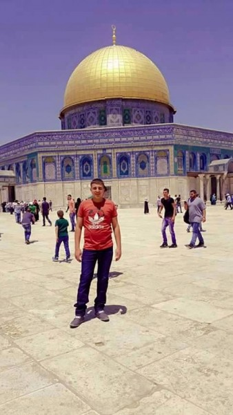 Mahmoud at al-Aqsa mosque