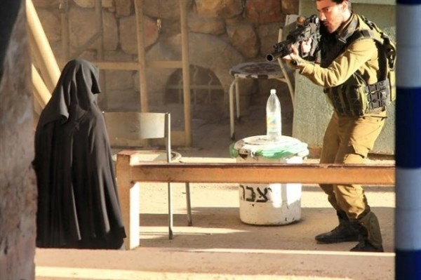 Israeli soldier shooting at 18-year old girl
