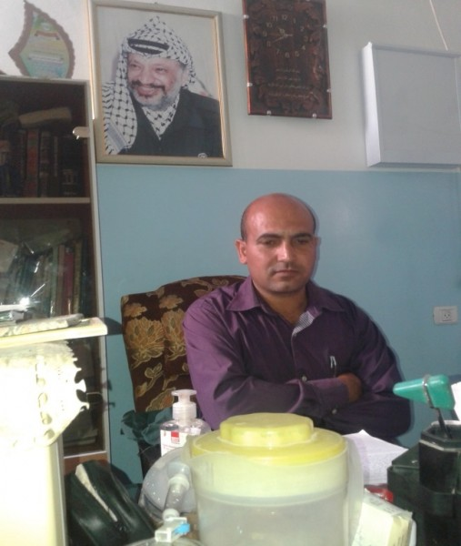 Dr. Mohammad in his office. Photo by ISM