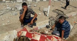 """""""She had been murdered in cold blood while back and she lie near her wheelchair with multiple gunshots in her limbs, heart and head, when she was found days later by her familyin an advanced state of decompositionon the main street of the devastated village of Khuzaa, southern Gaza Strip."""""""