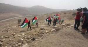 Peaceful march in Nabi Saleh