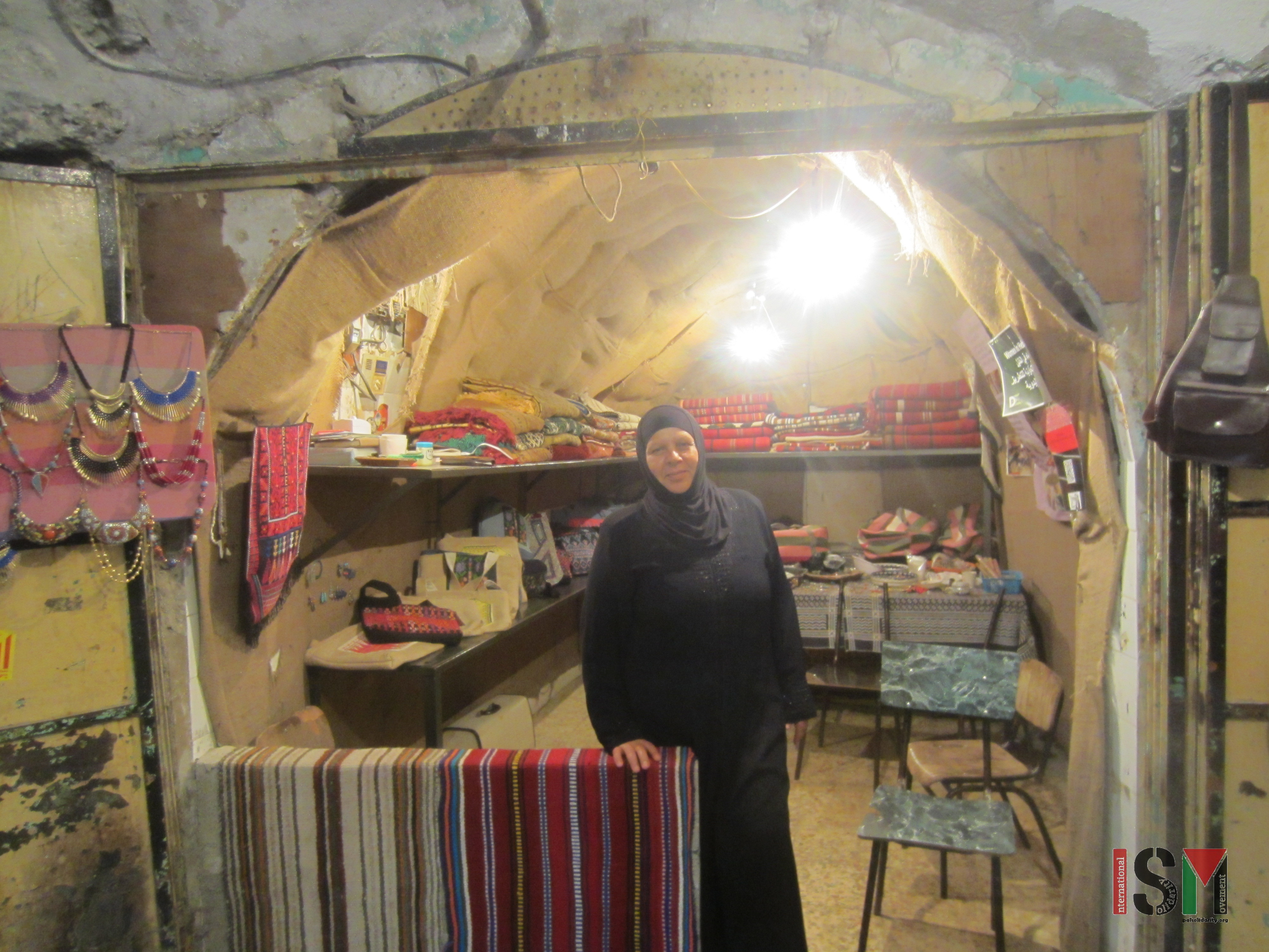 The Women In Hebron Cooperative International Solidarity Movement