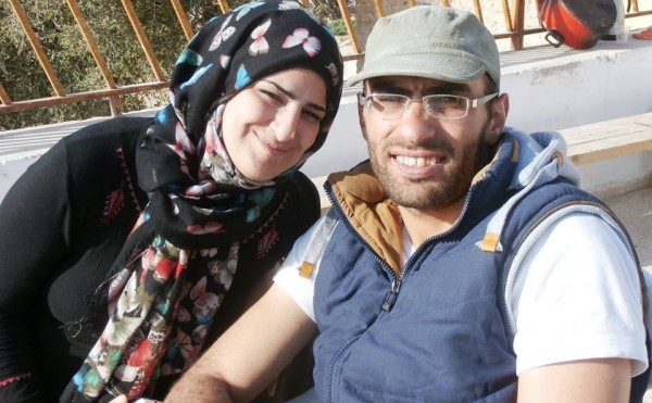 Mahmoud and his wife Sireen, married just three months at the time of Mahmoud's arrest in Jordan by Israeli authorities.