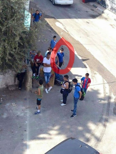 Abed al-Rahman Shadi Obeidallah, 12, just before being shot to death by Israeli forces in Bethlehem