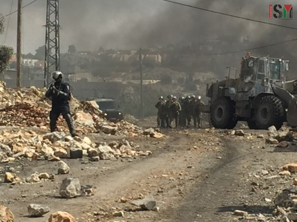 Israeli forces at Kafr Qaddum