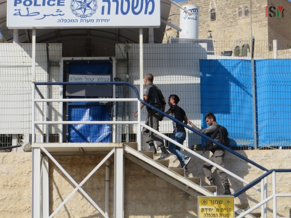 17-year old boy taken to the police station by Israeli forces