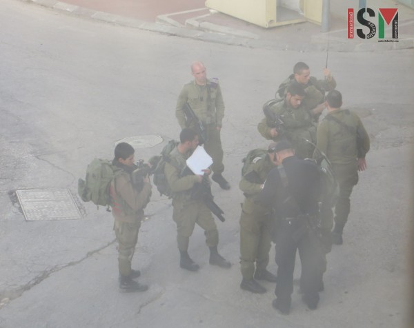 Israeli forces preparing the paper to kick out internationals from their home