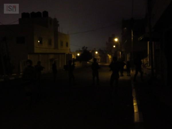 Israeli forces patrol streets