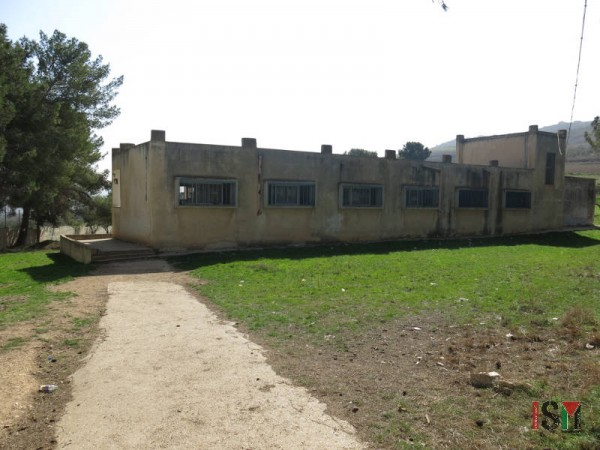 The building housing boys in the age of 10-12 in which settlers attacked.