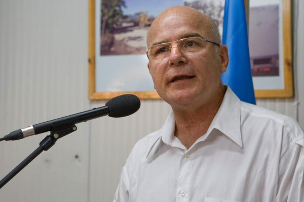 UN Special Rapporteur on the situation of human rights defenders Michel Forst. Photo: MINUSTAH