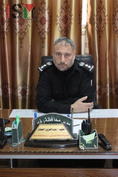 Abdel Aziz el Atar, Head of the Civil Defence Office