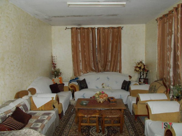 The living room of Kifaya's family