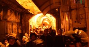 Settler clocking up the Palestinian market