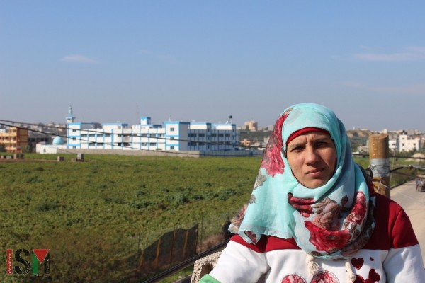 Raida, behind the UN school where one baby died after being burned alive in a fire due to the bad conditions of the electrical installation