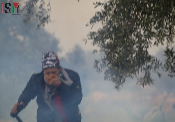hassan tear gas wm