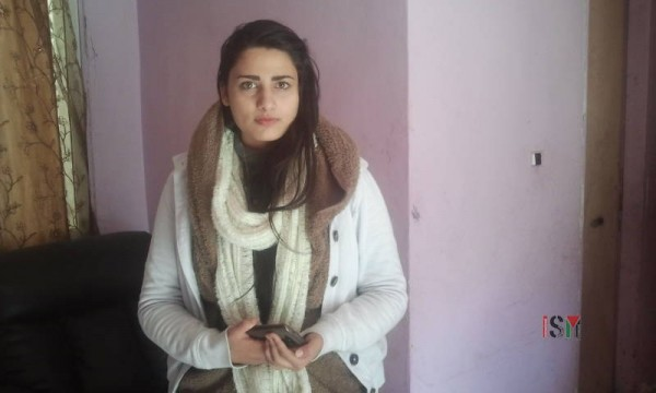 Mohammed's sister, 17 year old Ala'