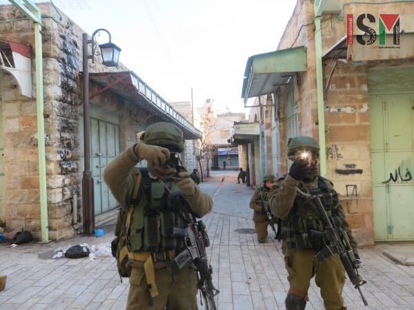 Israeli forces taking photos of human rights defenders with their private phones