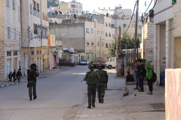 Israeli forces continue to encroach into a school zone after already tear gassing the retreating children