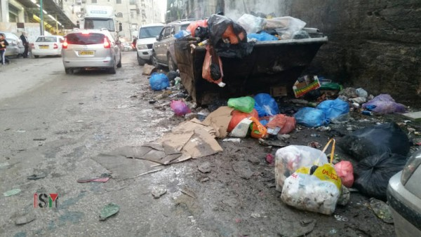 The Israeli Minucipality is responsible for services such as picking the garbage, but they refuse to do so and the streets are always dirty.