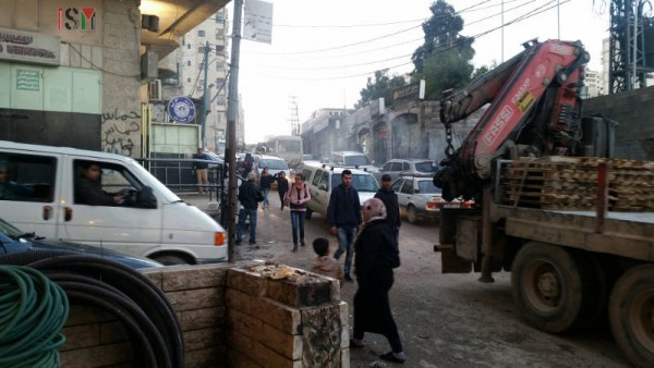 The streets in the Camp are in very bad conditions with holes and traffic jams are seen everyday.
