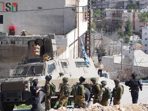 israeli forces open shuhada