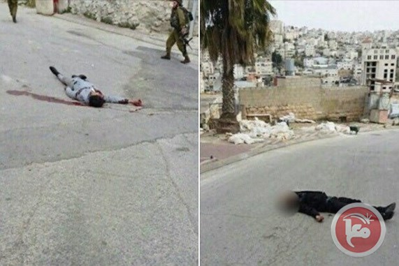 The two slain Palestinian men (photo credit maanimages)