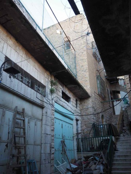 Abed's home and the illegal Israeli settlement of Beit Hadasa