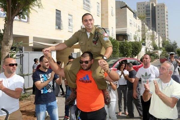 Elor Azraya welcomed home