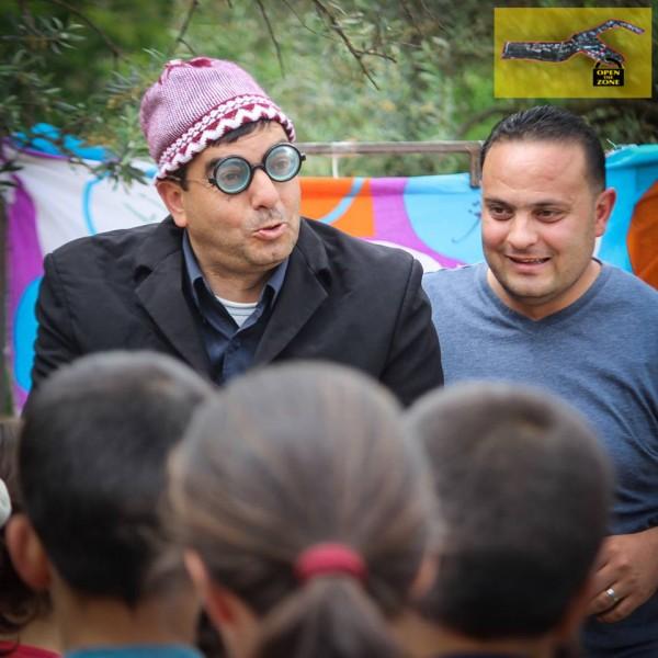 Children's play in Tel Rumeida
