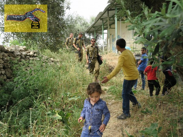 Highly militarised childhood for Palestinian children in the closed military zone in Hebron