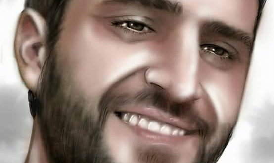 painting of Mohamed fone by his wife