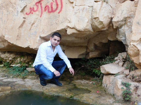 Qarawah's only potable water source