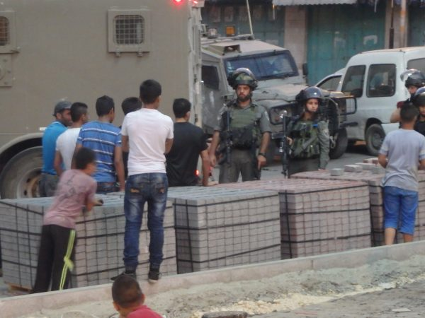 Despite intimidation efforts by the Border Police, the young men and youth refuse to submit to the occupation.