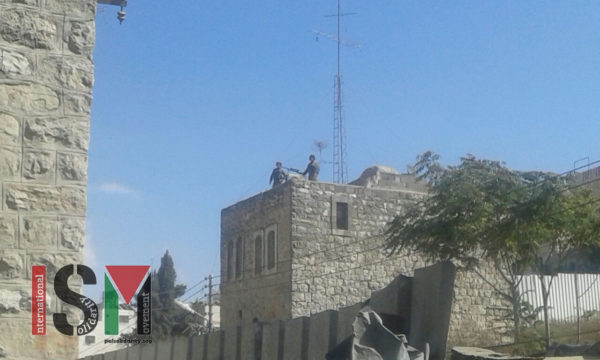 Snipers line the rooftops of H1, aiming at Palestinian civilians as a form of intimidation.