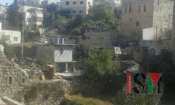All of this violent intimidation just so that Jewish tourists and settlers can pray in this house for a few minutes.