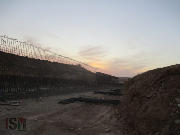 Building waterways for the new Jewish Israeli settlement