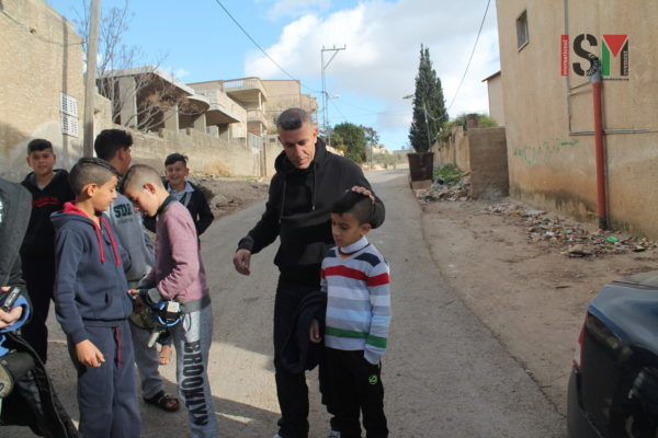 7-year old kidnapped by Israeli forces last week
