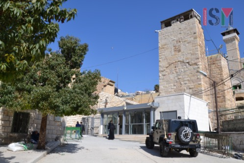 The new checkpoint at the al-Ibrahimi mosque