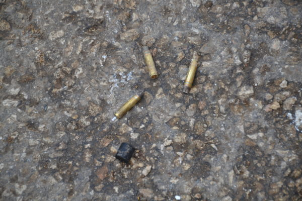 Israeli Forces fired large amount of live ammunition and rubber coated steel bullets at civilian palestinian protesters
